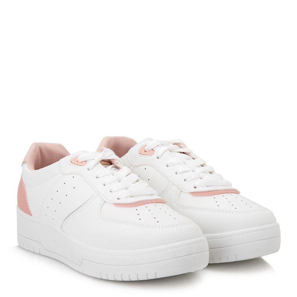 Sneakers με κορδόνια