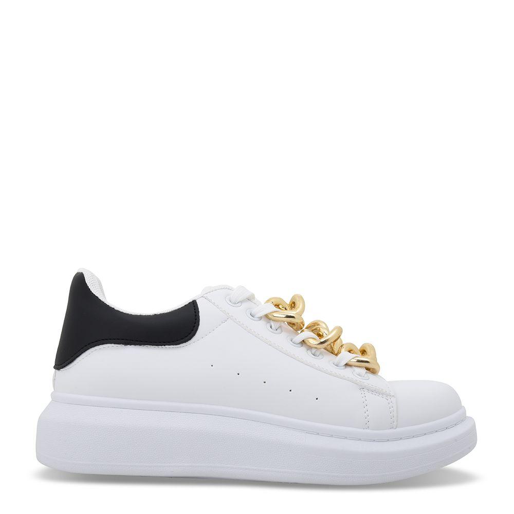 Sneakers δίπατα με αλυσίδες